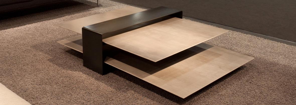 Table basse c ramique pleine masse anello meubles steinmetz - Meubles steinmetz ...