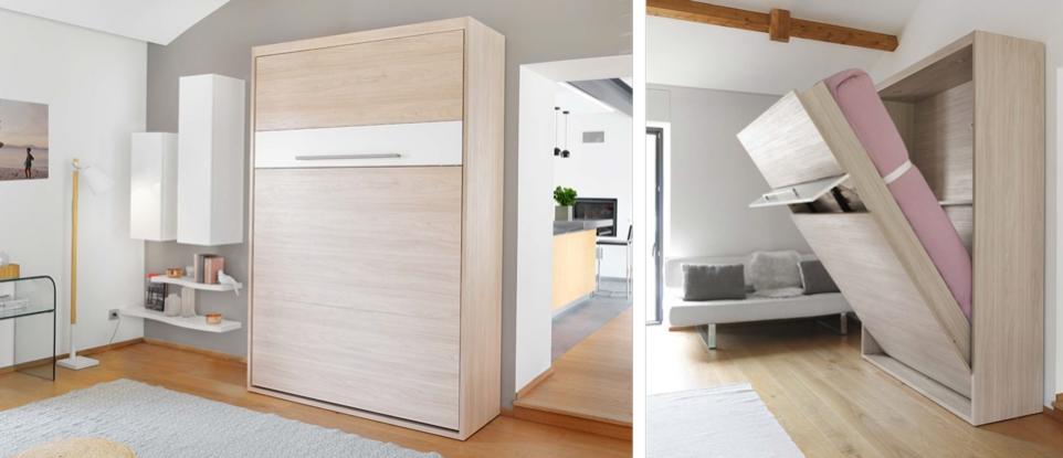armoire lit celio meubles steinmetz. Black Bedroom Furniture Sets. Home Design Ideas