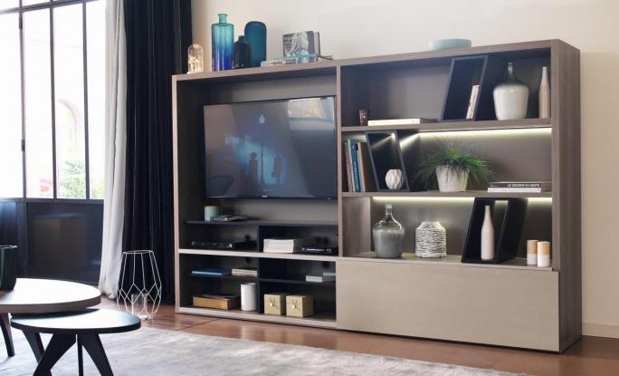 Meuble tv casting celio meubles steinmetz for Celio meuble