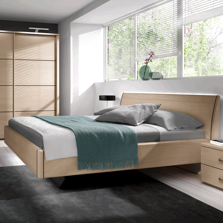 chambre santos meubles steinmetz. Black Bedroom Furniture Sets. Home Design Ideas