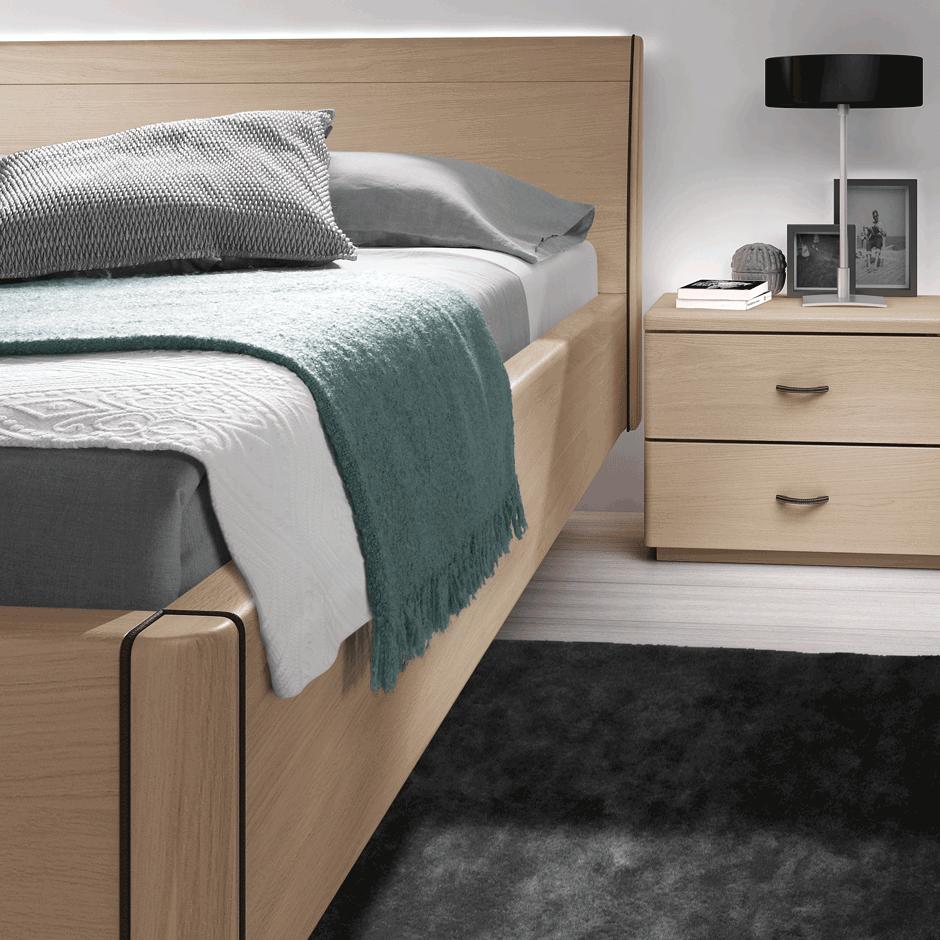 chambre santos meubles steinmetz. Black Bedroom Furniture Sets. Home Design Ideas