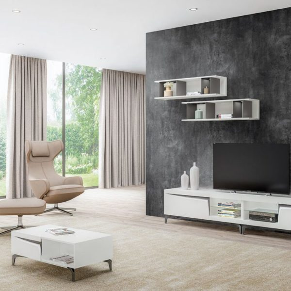 meuble tv iris meubles steinmetz. Black Bedroom Furniture Sets. Home Design Ideas