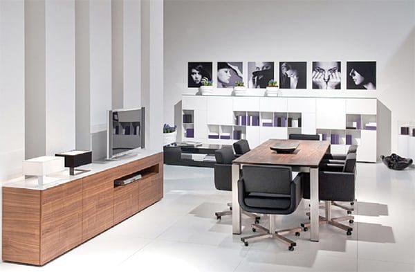 meuble tv avec niche meubles steinmetz. Black Bedroom Furniture Sets. Home Design Ideas