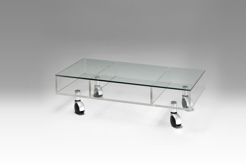 table basse sur roulettes meubles steinmetz. Black Bedroom Furniture Sets. Home Design Ideas