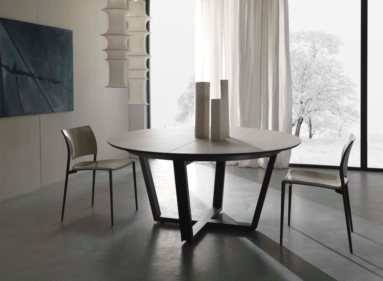 table de repas salle manger meubles steinmetz. Black Bedroom Furniture Sets. Home Design Ideas