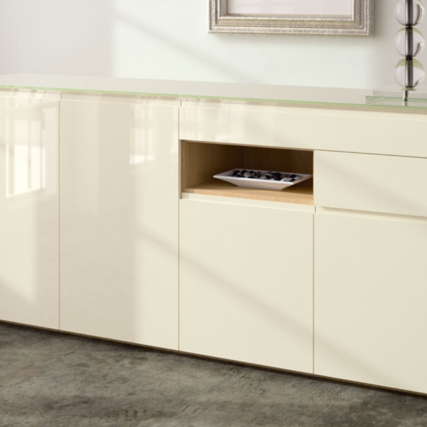 bahut bas milano meubles steinmetz. Black Bedroom Furniture Sets. Home Design Ideas