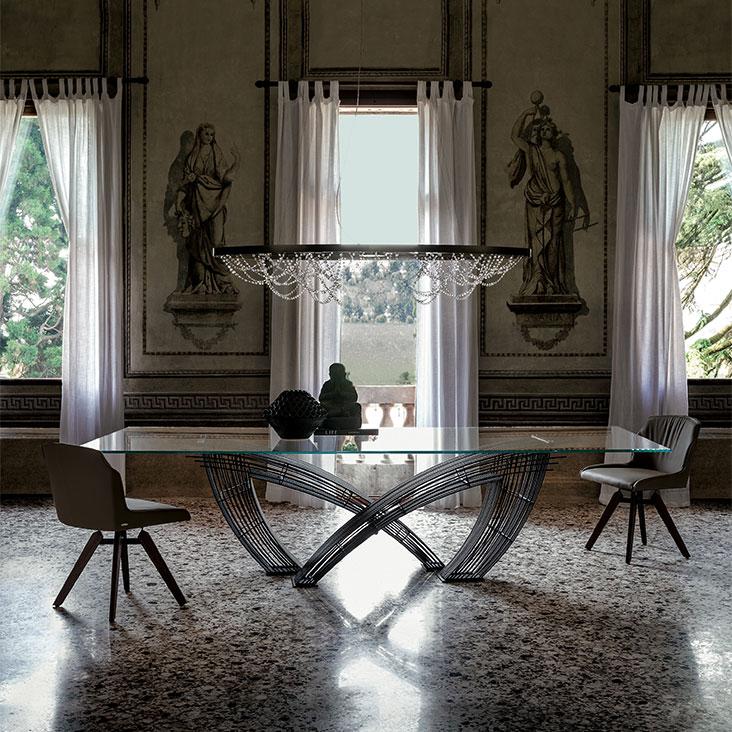 table hystrix meubles steinmetz. Black Bedroom Furniture Sets. Home Design Ideas