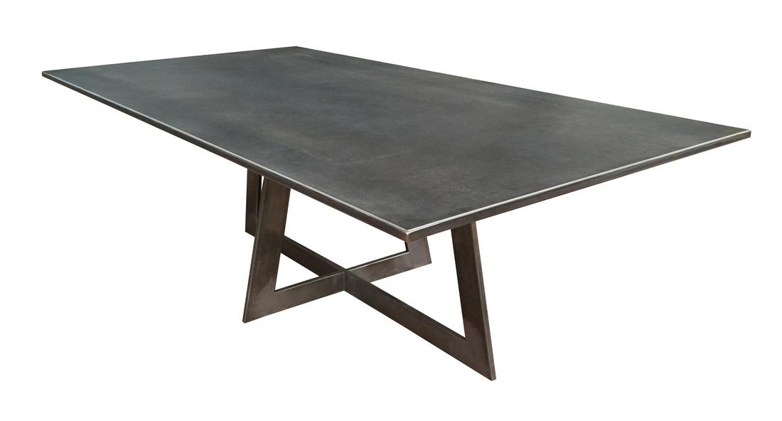 table de repas sur mesure c ramique meubles steinmetz. Black Bedroom Furniture Sets. Home Design Ideas