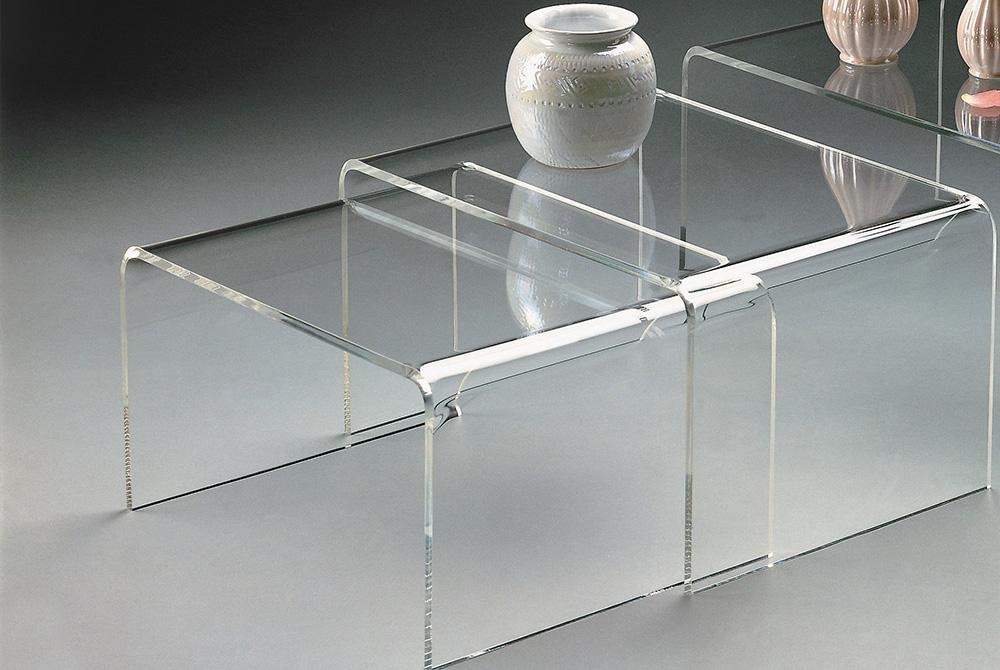 Table Gigogne En Plexiglas