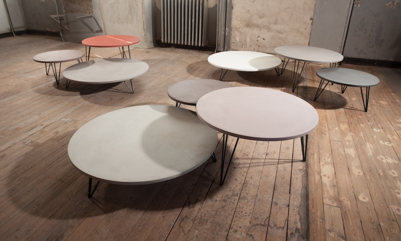table basse enduit b ton meubles steinmetz. Black Bedroom Furniture Sets. Home Design Ideas