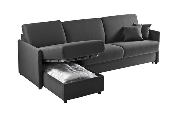 canap convertible rapido x na angle meubles steinmetz. Black Bedroom Furniture Sets. Home Design Ideas