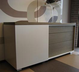bahut porte coulissante karat meubles steinmetz. Black Bedroom Furniture Sets. Home Design Ideas