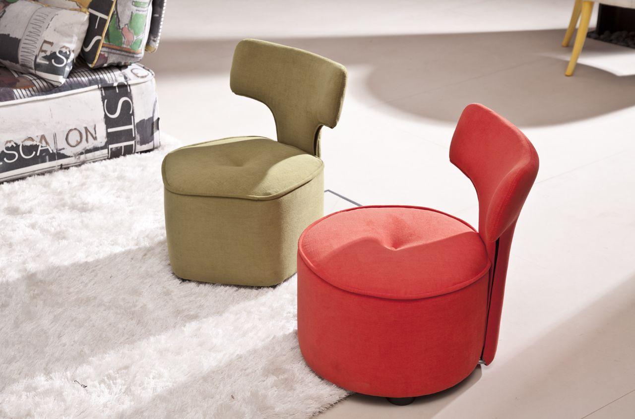 pouf avec dossier meubles steinmetz. Black Bedroom Furniture Sets. Home Design Ideas