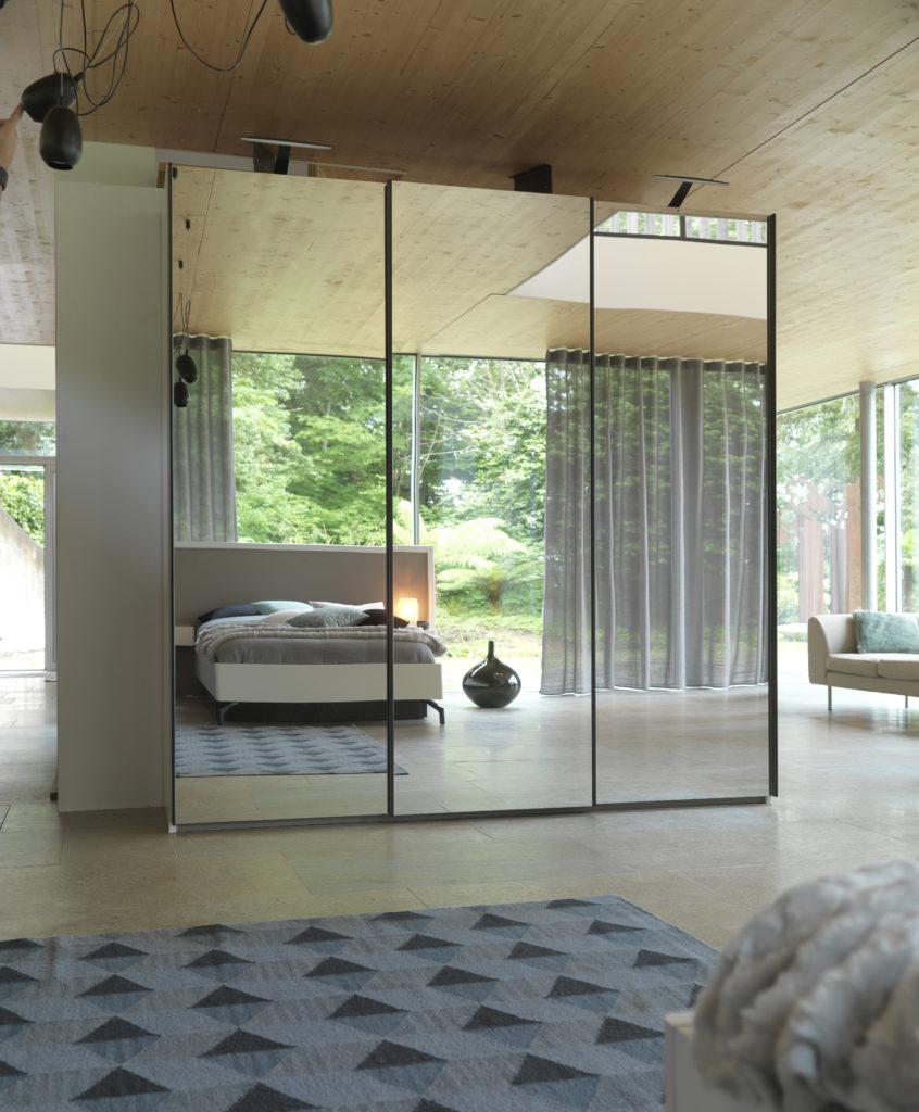 3 portes coulissantes miroir meubles steinmetz - Meubles steinmetz ...