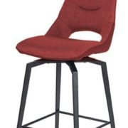 CHAISE DE BAR FURTIF ROUGE jpg